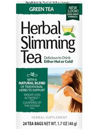 <b>Herbal Slimming Tea</b> Green Tea - 24 Tea Bags | 21st Century ...