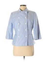 Details About Brooks Brothers Women Blue Blazer 6 Petite
