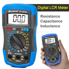 Test Light Multimeter 3 1 2 Digital Lcr Meter Resistance Capacitance Inductance