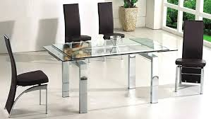 expandable glass dining table s round glass extendable dining table