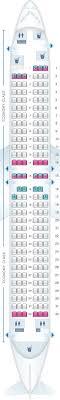 Seat Map Scandinavian Airlines Sas Boeing B737 800