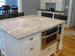 modern white stained wooden island built in microwafe images of quartz countertops in kitchens