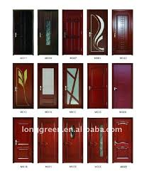 modern single door design with glass safety wooden door design view main door design long green
