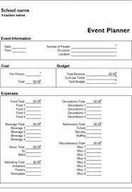 microsoft excel event planner template event planning contract templates