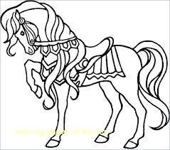 Free Coloring Pages Of Horses Coloring Page Horse Mustang Horse