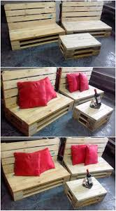 wooden pallet furniture design. Mind-blowing And Simple Creative Wood Pallet Chair Furniture Set Up The Table Center Piece Effect Has Been Brought About In This Project. Wooden Design