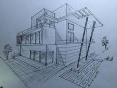 modern home architecture sketches. Delighful Modern Coloured Pencil Drawings Architecture In Modern Home Architecture Sketches G