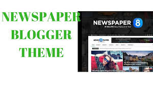 best news template for blogger newspaper blogger theme setup hindi youtube