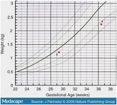 Pregnancy Growth Chart By Week Complete Average Baby Weight At 32 Weeks Fetal Size And