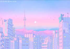 Pink Aesthetic Anime Desktop Wallpapers ...