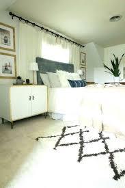 furry white rug