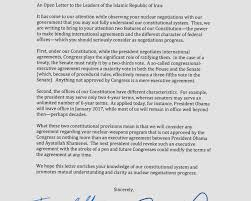 patriotexpressus splendid letter page exquisite letter patriotexpressus likable the disputed letters about nuclear pact stirring tension amazing cottonopenletterto ianleaderspage and