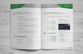 resume booklet resume booklet design indesign v2 ad booklet spon