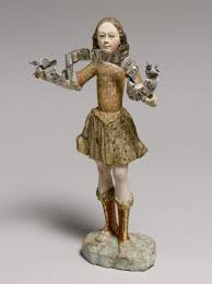 polychrome sculpture in spanish america essay heilbrunn standing angel