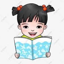 Hình ảnh Mùa Học đọc Sách Trẻ Em Cô Bé, Hình, Tươi Mới, Phí miễn phí tải tập  tin PNG PSDComment và Vector