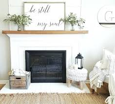 white painted brick fireplace mantel modern design and decor ideas for home1