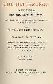 The Heptameron Marguerite De Navarre