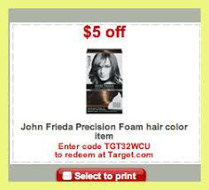 John frieda coupon, john frieda precision foam colour shades. John Frieda Hair Color Coupons 7369 John Frieda Precision Foam Colour 99 At Rite Aid Tutorials