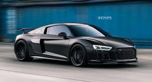 black audi r8 v10. Modren Black AllBlack Audi R8 V10 Plus Looks Like A FourWheel Stealth Bomber And Black