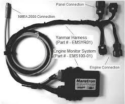 emsyrm01 maretron nmea 2000 yanmar harness (ems100 accessory yanmar 3jh2e wiring harness at Yanmar Wiring Harness