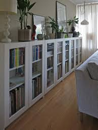 Office bookcases with doors Office Furniture Perfect For Small Room Because They Are So Narrow Billy Bookcases With GrytnÄs Glass Doors Ikea Hackers Pinterest 30 Genius Ikea Billy Hacks For Your Inspiration Our Home
