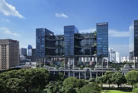 Park Royal Hotel Singapore, WOHA Architects, Singapore architecture, hotel  architecture, solar power