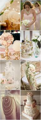 Vintage Wedding Decor 35 Vintage Wedding Ideas With Pearl Details Tulleandchantillycom