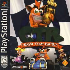 sony playstation 1 games. crash team racing ctr sony playstation 1 games