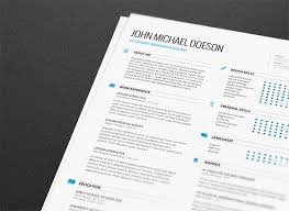 Interactive Resume Template New 48 Free Editable CVResume Templates For PS AI