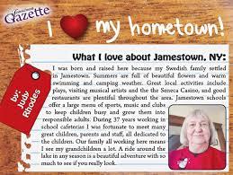Judy Rhodes - Jamestown Gazette