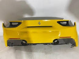 Ferrari 488 Stoßstange Hinten Heckstoßstange Rear Bumper 86637810 Bauer Powerparts