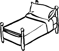 Small Picture Bed 38 Objects Printable coloring pages
