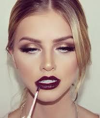 stylish party makeup look via