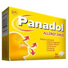 Panadol Allergy And Sinus