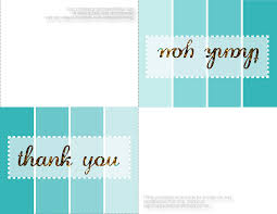 Printable Note Cards Thank You Card Customize Images Of Printable Thank You Card