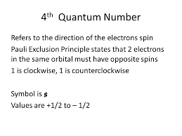 Quantum Numbers How to find your atom's address in the Periodic ...