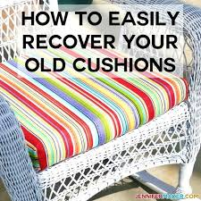 no sew reupholster cushions reupholster cushions s couch no sew without sew outdoor reupholster