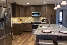 Kitchens With Black Appliances Blue Kitchen Cabinets With Black Appliances Quicuacom