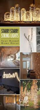 string light diy ideas cool home. 33 Awesome DIY String Light Ideas | Hula Hoop Chandelier, Diy Room Decor And Cool Home O