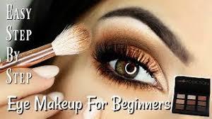 beginner eye makeup tips tricks step
