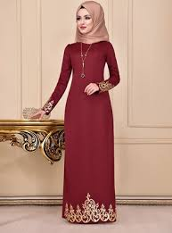 <b>Long</b> Sleeve Muslim <b>Evening Dresses</b> | Modanisa