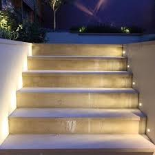 in stair lighting. Best Fully Recessed Lighting For Patio Terrace And Deck Lucca In Stair Prepare