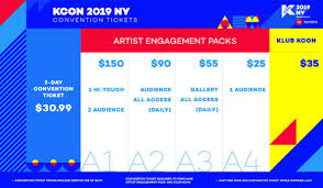 Kcon Seating Chart 2018 Kcon New York Announces Full Line Up Ticket Sales