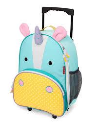 Zoo Kids Rolling Luggage Skiphop Com