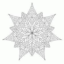 Cool Geometric Design Coloring Pages Coloring Home