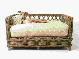 fancy dog beds furniture. Raised Ratten Dog Bed By Charley Chau Fancy Beds Furniture