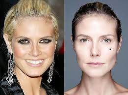 heidi klum from stars without makeup e