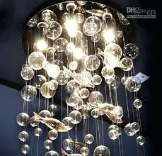 ceiling lights and chandeliers modern fashion deep sea fish glass bubble led ceiling light throughout lighting ceiling lights and chandeliers
