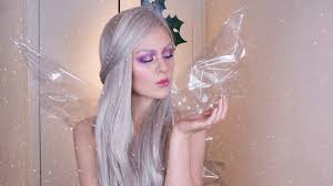 winter forest fairy makeup tutorial