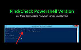 find check powers version use